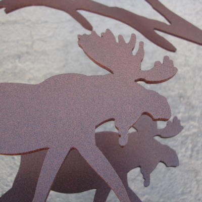 moose metal decoration epoxy powder coatings