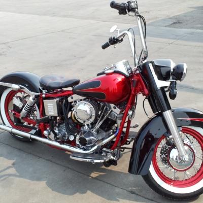 epoxy powder motorcycle