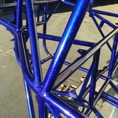 blue coating of powder metal