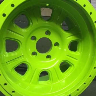 car tire rim powder coating