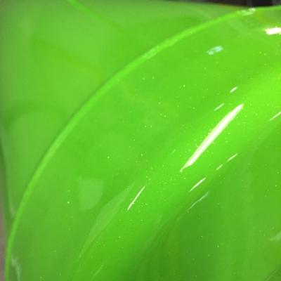 bright green coating